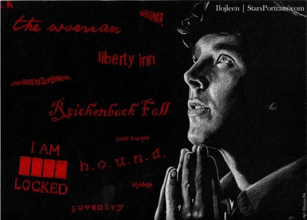 Benedict Cumberbatch por Ilojleen